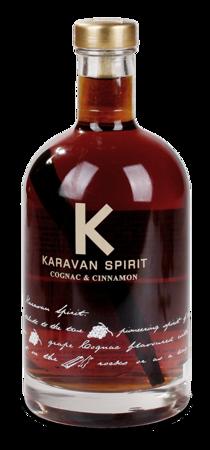 Koniak - Karavan Spirit - Cognac & Cinnamon - 0,7 l alk. 40%