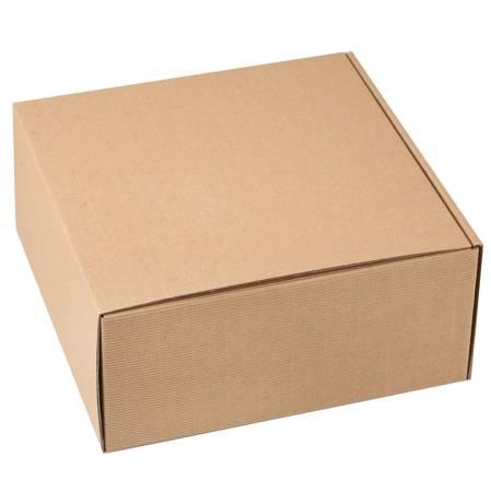 Pudełko prezentowe EKO Kraft 22x22x10cm - 10 szt.