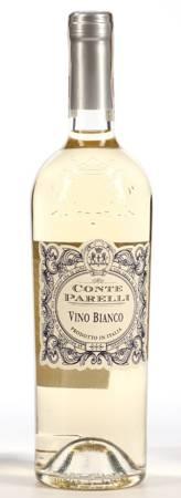 Wino Conte Parelli - Wino białe półwytrawne 0,75l - Włochy (236)