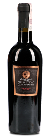 Wino Primitivo di Manduria - Wino czerwone 0,75 l - Włochy