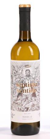 Wino Septimo Sentido - Wino białe 0,7l - Hiszpania (238)